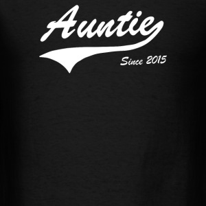 Auntie Since 2015 - Men's T-Shirt