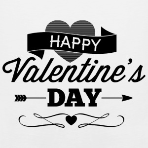 happy_valentine-s_day - Men's Premium Tank