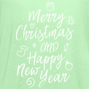 Merry Christmas and a happy new year T-Shirts - Women's Flowy Tank Top by Bella