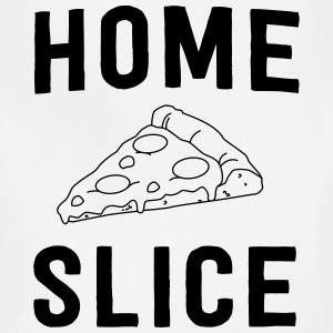 Pizza. Home Slice T-Shirts - Adjustable Apron