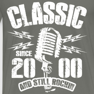 Classic Since 2000 and Still Rockin' - Men's Premium T-Shirt