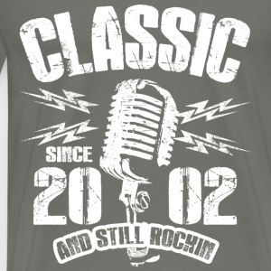 Classic Since 2002 and Still Rockin' - Men's Premium T-Shirt