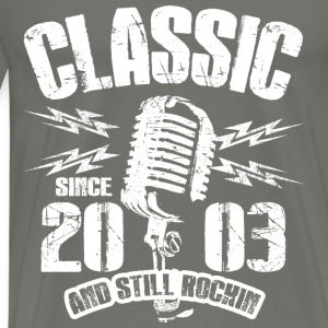 Classic Since 2003 and Still Rockin' - Men's Premium T-Shirt