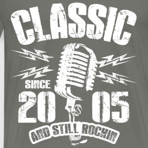 Classic Since 2005 and Still Rockin' - Men's Premium T-Shirt