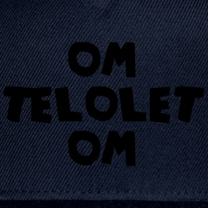 OM TELOLET OM 1 - Black Sweater - Snap-back Baseball Cap