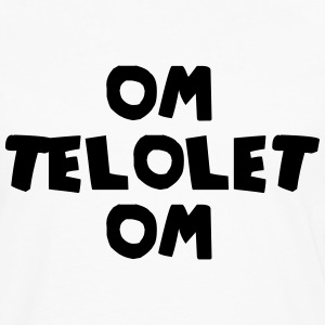 OM TELOLET OM 1 - White - Men's Premium Long Sleeve T-Shirt