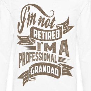 Professional Grandad. T-shirt for Him! - Men's Premium Long Sleeve T-Shirt