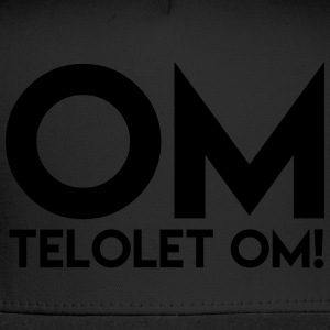 OM TELOLET OM 2 - Dark Sweater - Trucker Cap