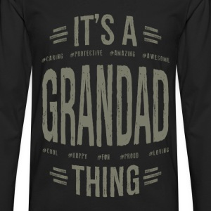 Grandad T-shirts Gifts - Men's Premium Long Sleeve T-Shirt