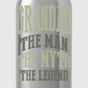 Grandad The Man T-shirts Gifts - Water Bottle