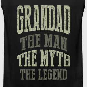 Grandad The Man T-shirts Gifts - Men's Premium Tank