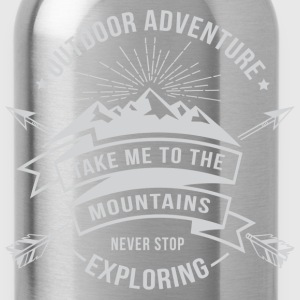 Take me to the mountains T-Shirts - Water Bottle
