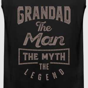 Grandad The Man | T-shirt Gift! - Men's Premium Tank