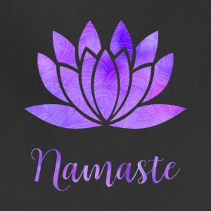 Namaste Lotus Flower - Adjustable Apron