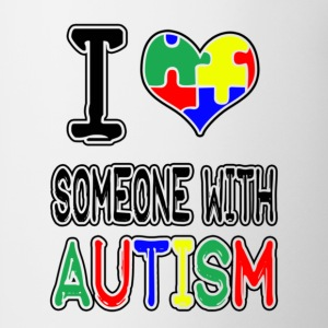 I Love Someone With Autism - Coffee/Tea Mug