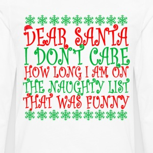 sorry_not_sorry_santa_ - Men's Premium Long Sleeve T-Shirt