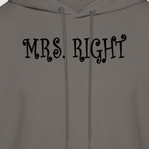 mrs_right_ - Men's Hoodie