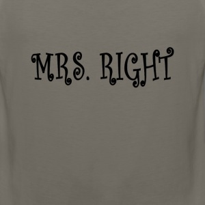 mrs_right_ - Men's Premium Tank