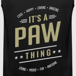 It's a Paw Thing | T-shirts Gifts - Men's Premium Tank