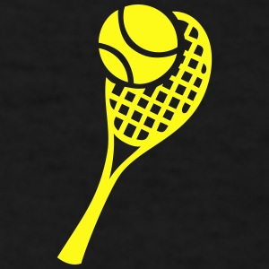 Tennis Racket and Ball Sportswear - Men's T-Shirt