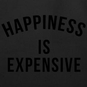 Happiness is expensive Long Sleeve Shirts - Eco-Friendly Cotton Tote