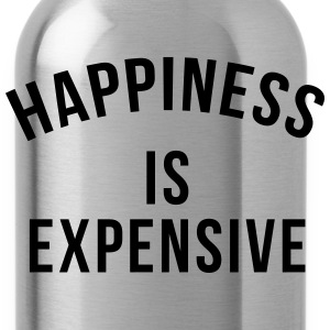Happiness is expensive Long Sleeve Shirts - Water Bottle