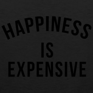 Happiness is expensive Long Sleeve Shirts - Men's Premium Tank