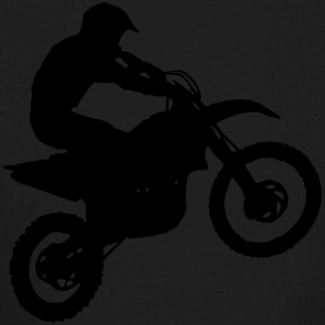 Dirt Bike Motocross Rider