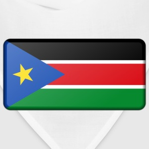 Flag of South Sudan (bevelled) - Bandana