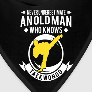 Old Man Taekwondo t shirt - Bandana