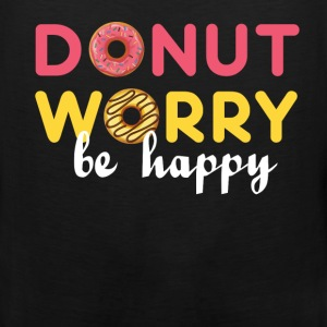 Donut - Donut worry, be happy - Men's Premium Tank