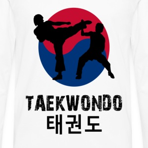 Taekwondo sparring hoodies - Men's Premium Long Sleeve T-Shirt