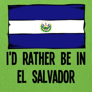 I'd Rather Be In El Salvador - Tote Bag