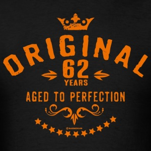 Original 62 years aged to perfection - RAHMENLOS birthday gift Hoodies - Men's T-Shirt