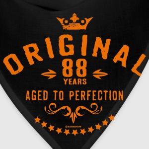 Original 88 years aged to perfection - RAHMENLOS birthday gift T-Shirts - Bandana