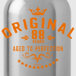Original 88 years aged to perfection - RAHMENLOS birthday gift T-Shirts - Water Bottle