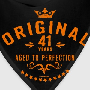 Original 41 years aged to perfection - RAHMENLOS birthday gift Hoodies - Bandana