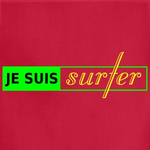 je suis surfer_vec_3 ca T-Shirts - Adjustable Apron