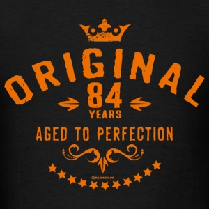 Original 84 years aged to perfection - RAHMENLOS birthday gift Hoodies - Men's T-Shirt