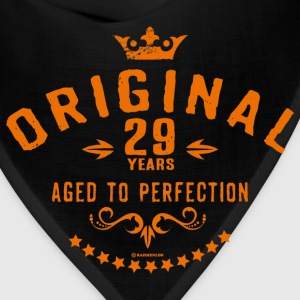 Original 29 years aged to perfection - RAHMENLOS birthday gift Aprons - Bandana