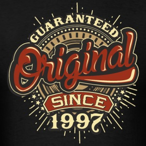 Birthday guaranteed since 1997 - Present Hoodies - Men's T-Shirt