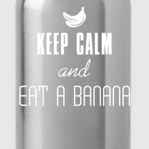 Keep Calm - Keep Calm and Eat a Banana - Water Bottle