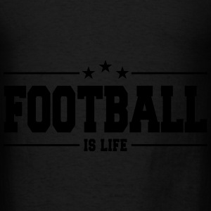 football is life 1 Bags & backpacks - Men's T-Shirt