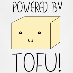 Powered by Tofu T-Shirts - Adjustable Apron