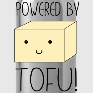 Powered by Tofu T-Shirts - Water Bottle