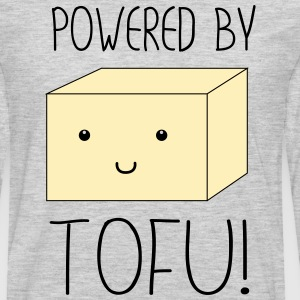 Powered by Tofu T-Shirts - Men's Premium Long Sleeve T-Shirt