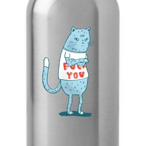 Sociopath Cat - Water Bottle