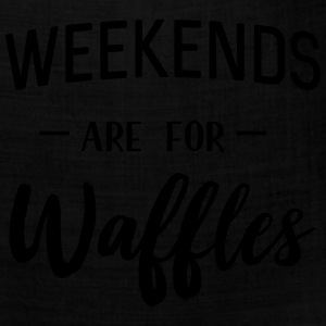 Weekends are for waffles T-Shirts - Bandana
