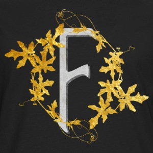 Initials2-F T-Shirts - Men's Premium Long Sleeve T-Shirt