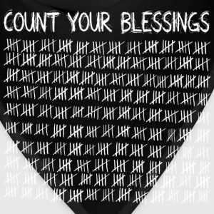 Count Your Blessings (dark) T-Shirts - Bandana